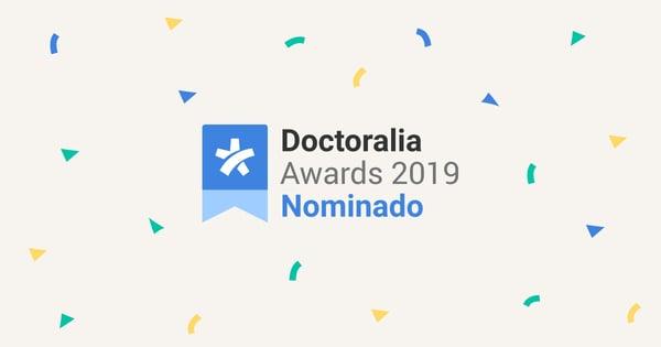Doctoralia Awards 2019 Nominado