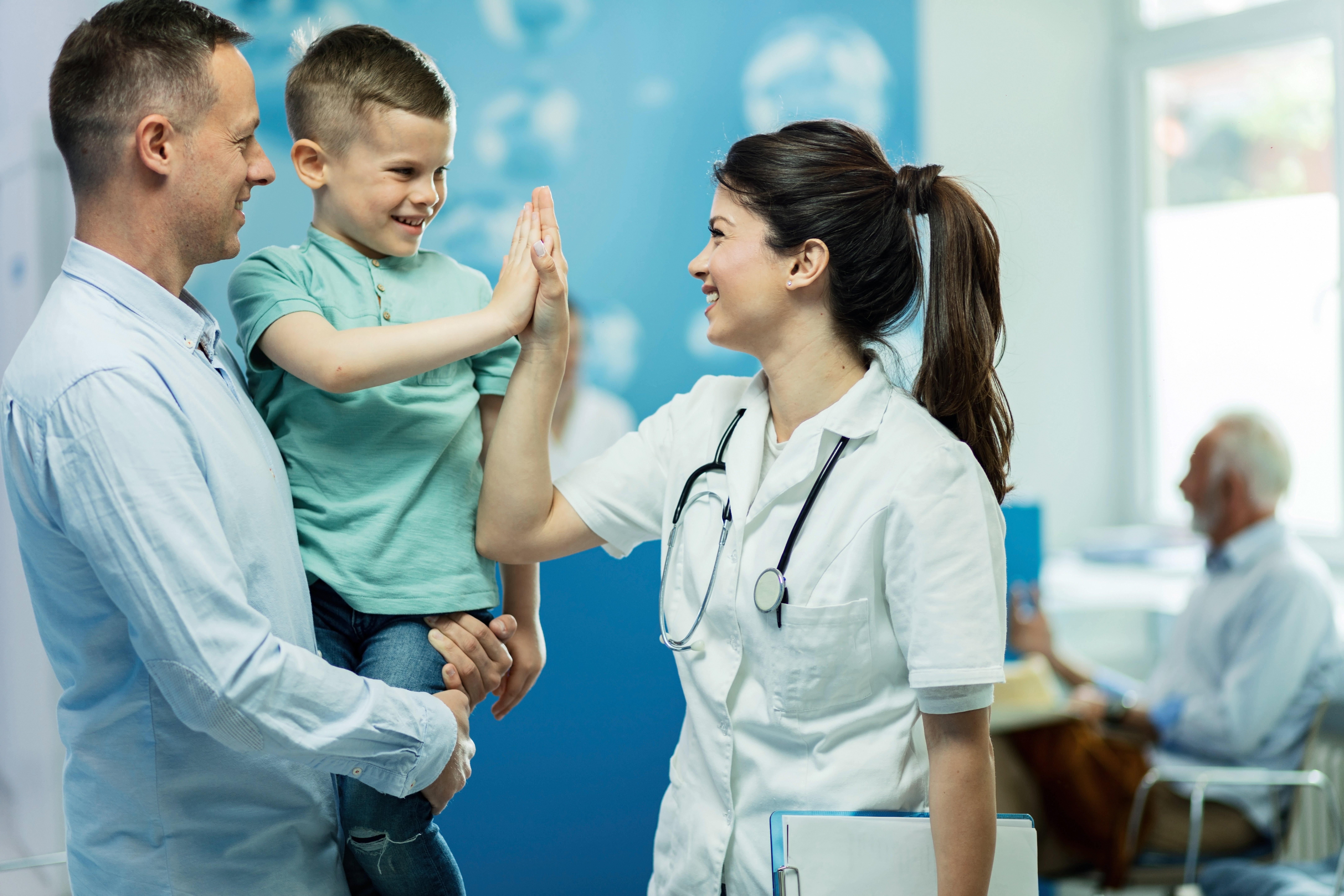paciente en la consulta médica